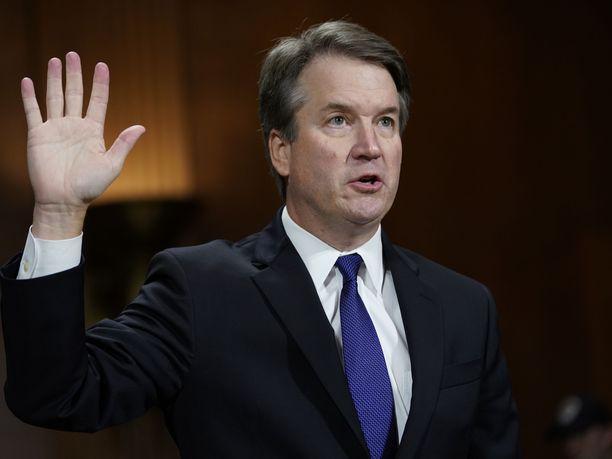 Brett Kavanaugh antoi valaehtoisen todistuksensa senaatissa viime viikolla.