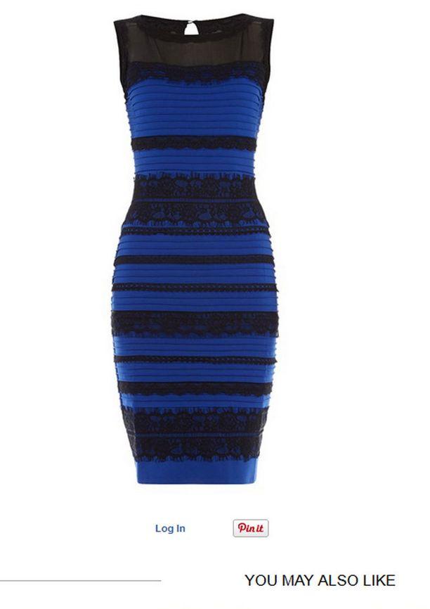 Tässä mekko kunnolla valaistuna. Olitko oikeassa?