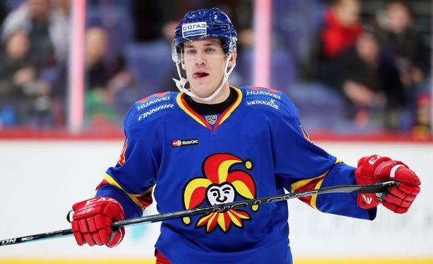 Jesper B. Jensen laukoi Jokereille kaksi maalia, kun KHL:n hallitseva mestari Metallurg Magnitogorsk kaatui 3-2.