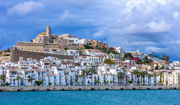 Ibizan vanhakaupunki on Unescon maailmanperintölistalla.
