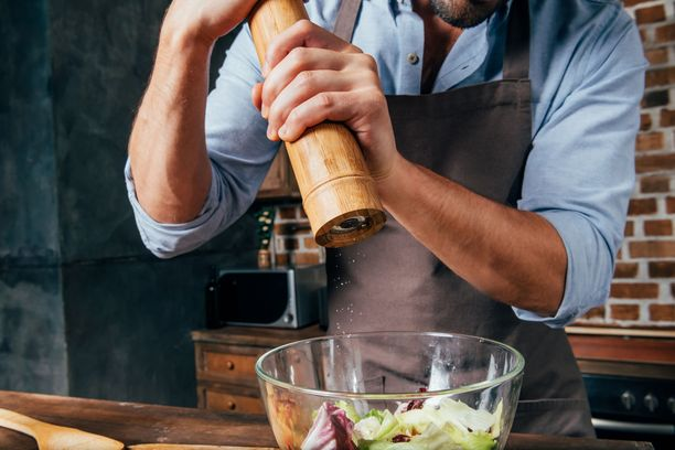 Pippuri antaa ruokaan potkua olematta kuitenkaan liian raju mauste.