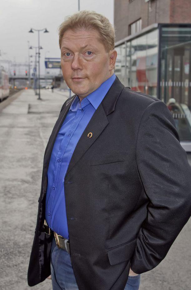 Vesa Keskinen esiintyi keskiviikkona Maria!-ohjelmassa.