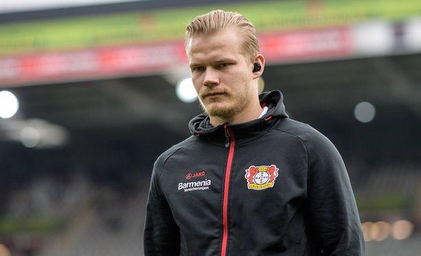 Joel Pohjanpalon Leverkusen kohtaa lauantain Bundesliiga-matsissa Hertha Berlinin.