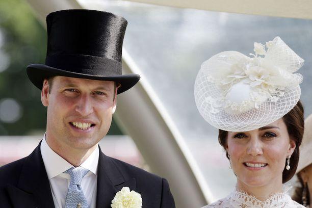Prinssi William ja herttuatar Catherine ovat näyttävä pari.