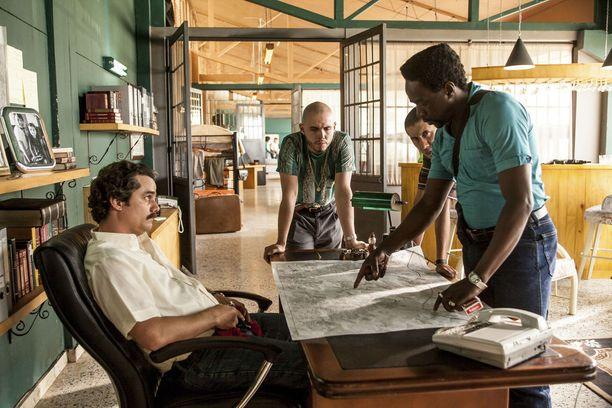 Wagner Moura näyttelee sarjassa Pablo Escobaria.