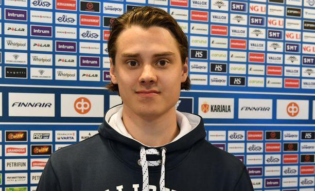 Sebastian Aho on aloittanut MM-turnauksen todella tehokkaasti.