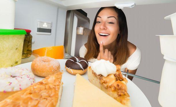 Herkut houkuttelevat, vaikka ruokavalio olisi terveellinen.