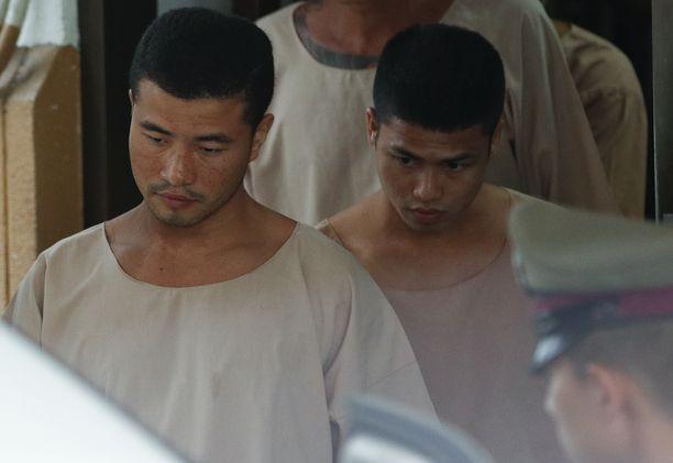 Zaw Lin ja Wai Phyo saivat Thaimaan kuninkaalta armahduksen.