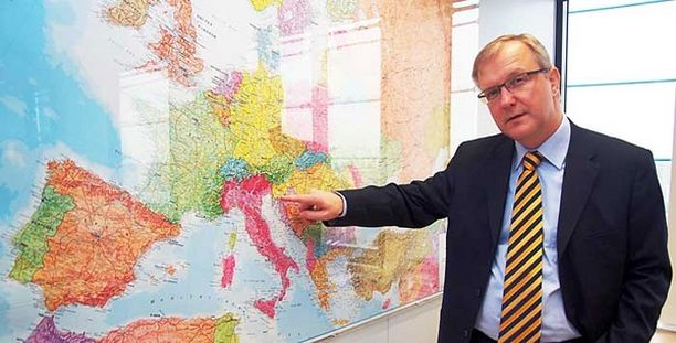 Olli Rehn ei halua viivytellä laajentumista.