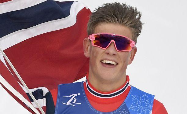 Johannes Høsflot Klæbo ei hiihdä olympialaisten kuninkuusmatkaa.