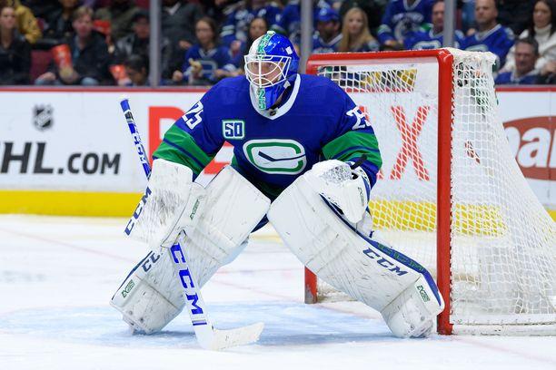 Jacob Markström teki pitkän ja rahakkaan sopimuksen Calgary Flamesin kanssa.