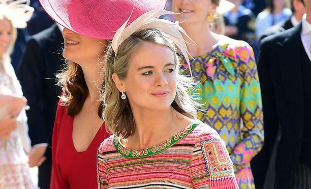 Cressida Bonas murehti hääkutsussa mainittua hattupakkoa ennen osallistumistaan ex-poikaystävänsä prinssi Harryn ja herttuatar Meghanin häihin viime viikonloppuna.