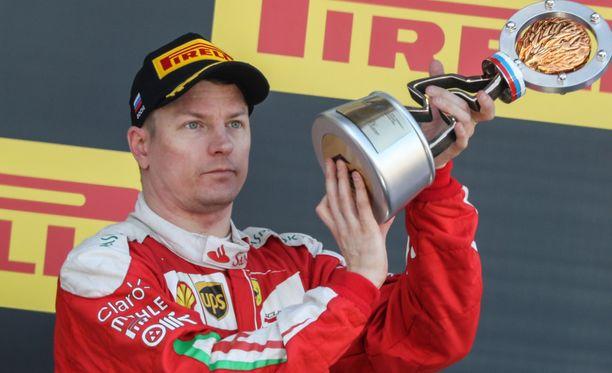 Kimi Räikkönen on MM-sarjassa toisena ennen viikonlopun Monacon GP:tä