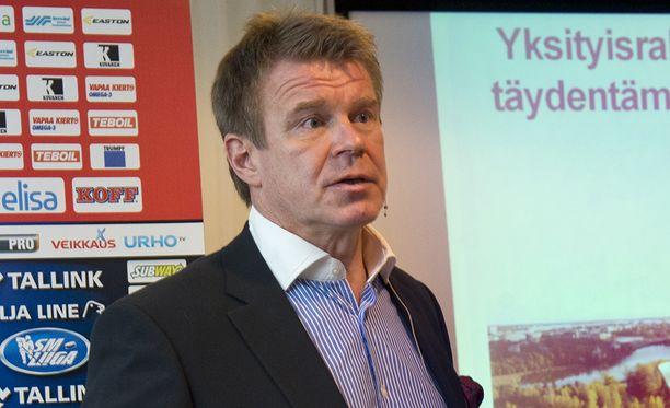 HIFK:n puheenjohtaja Timo Everi toimii veturina Helsinki Garden -hankkeessa.