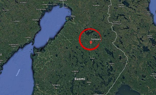 Sonkajärvi sijaitsee Pohjois-Savon maakunnassa.