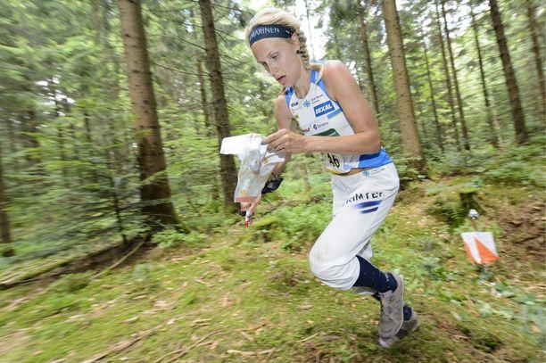 Minna Kauppi on yhdeksänkertainen maailmanmestari.