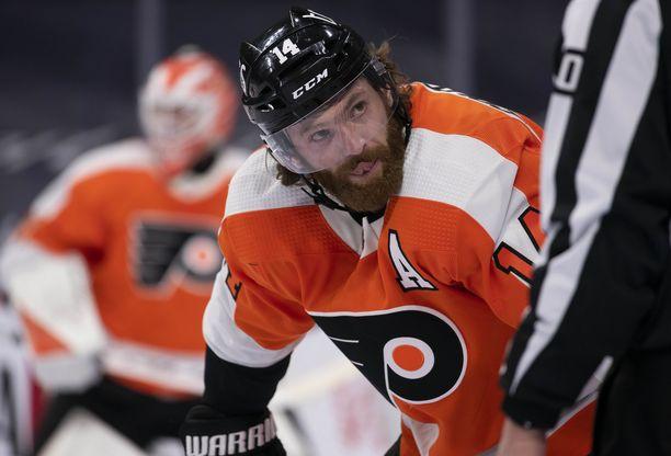 Sean Couturier jatkaa Flyersissa pitkään.
