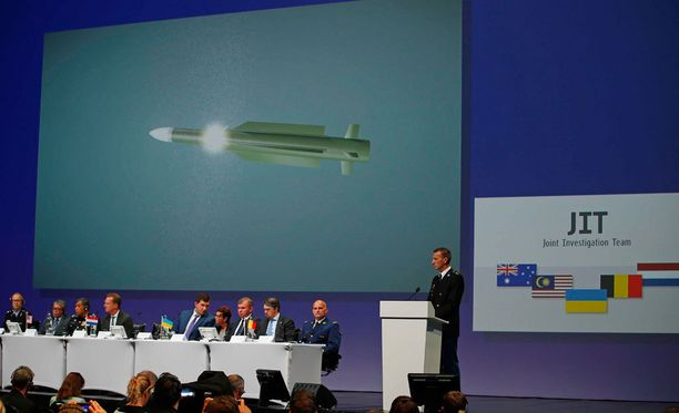 Hollantilaisen tutkimusryhmän tiedotustilaisuus lennon MH17 tuhosta syyskuun lopulla