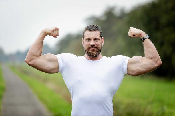 Olivier Richters tunnetaan maailman pisimpänä kehonrakentajana.