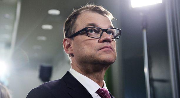 Keskustan puheenjohtaja Juha Sipilä ei aio puhua missään vapputilaisuudessa.
