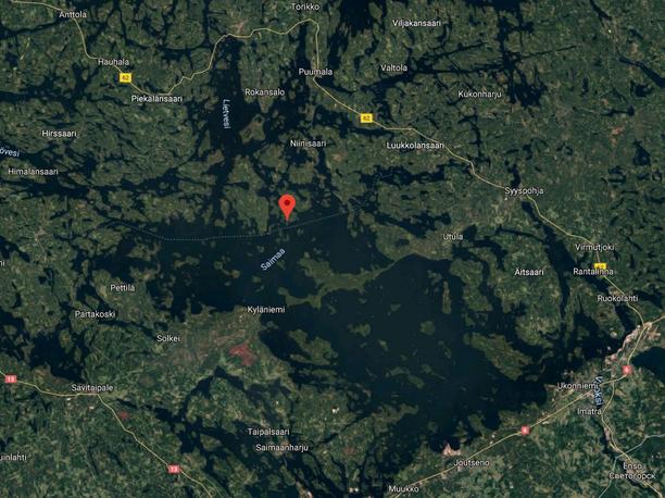 Alun perin palon ilmoitettiin olevan Pienessä Tervasaaressa, mutta palopaikka tarkentui myöhemmin sen kupeessa sijaitsevaksi Isoksi Tervasaareksi.