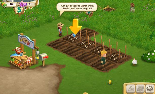 Farmville oli alun perin vain Facebookissa pelattava peli. Nyt peli löytyy myös mobiililaitteille.