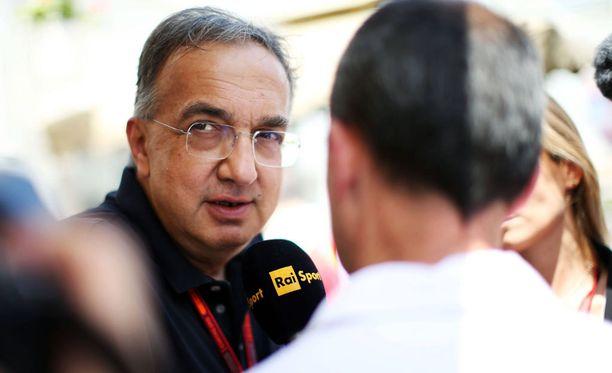 Sergio Marchionne haluaa potkia talliaan nykyistä parempaan.