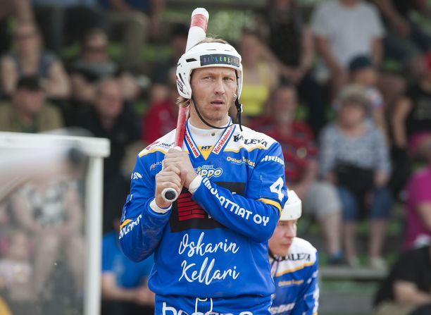 Legenda löi yhden juoksun sunnuntaina Ykköspesiksen ottelussa Tampereella.