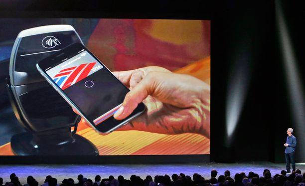 Apple Payn avulla voi maksaa ostoksensa sormenjäljellä ilman PIN-koodia.