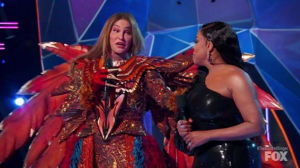 Caitlyn Jennerin esiityminen oli suuri yllätys niin tuomareille kuin katsojillekin.