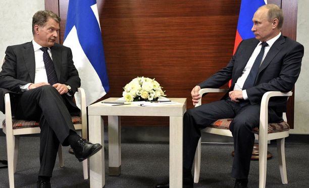 Sauli Niinistö ja Vladimir Putin keskustelivat Natosta.