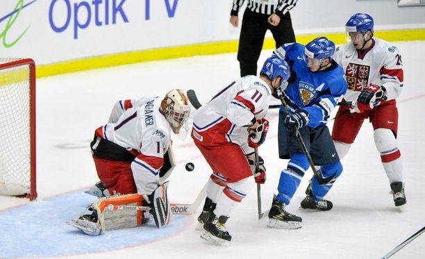 Suomi ja Tshekki eivät ole kisojen suurimpia mestarisuosikkeja.