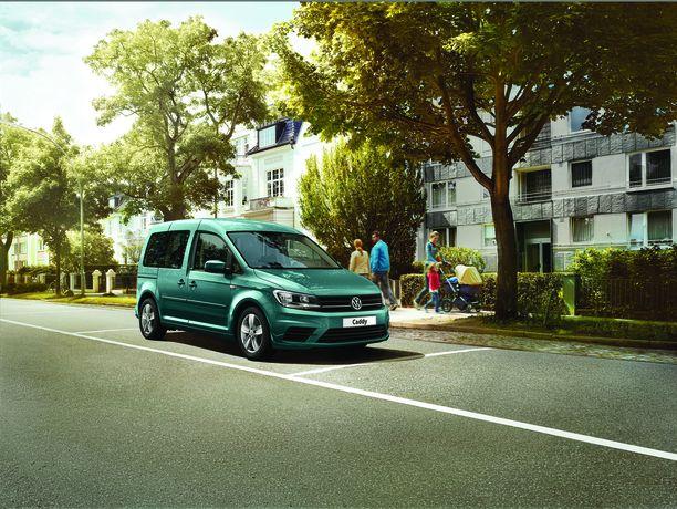 Caddylla sujuvat kuljetukset taloudellisesti ja vähäpäästöisesti.