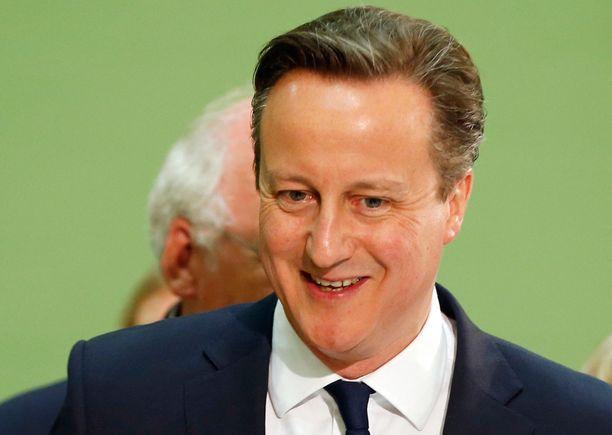 Vaalitulos on syypää David Cameronin hymyyn.