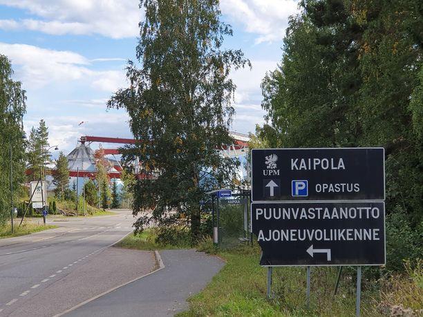 Kaipolan tehtaalla on 450 työpaikkaa.