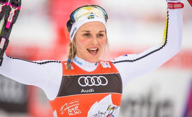 Stina Nilsson teki huimaa tulosta Tour de Skillä.