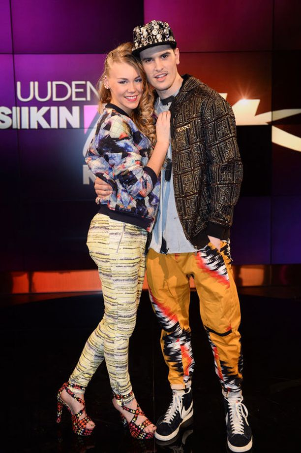 Clarissa ja Josh Standing