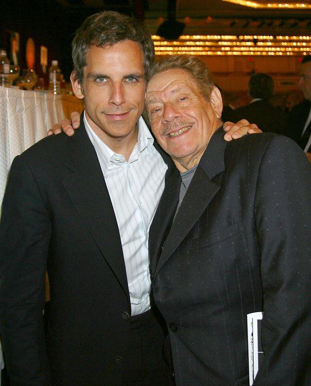 Ben ja Jerry Stiller New Yorkissa vuonna 2004.