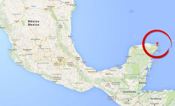 Nainen menehtyi lomamatkalla Meksikon Cancuniin.