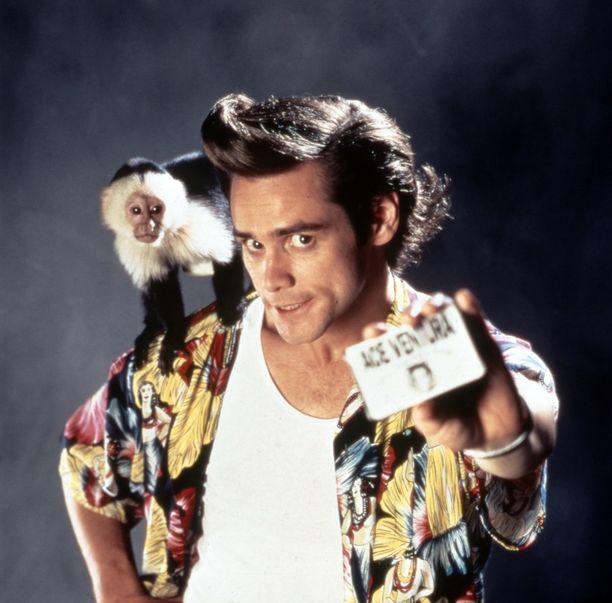 Ace Ventura -elokuvat tekivät Jim Carreystä maailmankuulun.