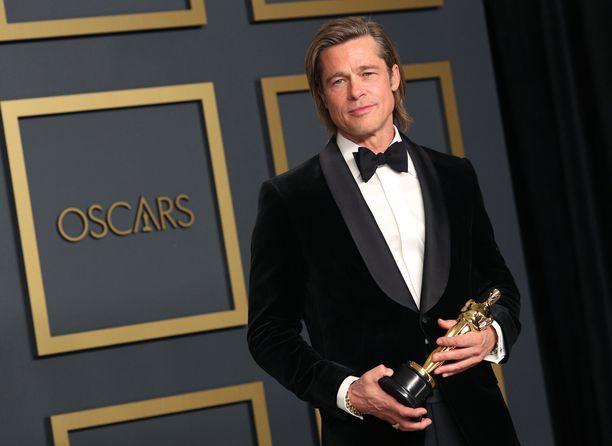 Brad Pitt pokkasi toisen Oscarinsa.