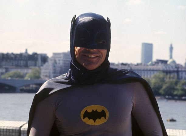 Adam West oli alkuperäisen Batman-tv-sarjan lepakkomies.