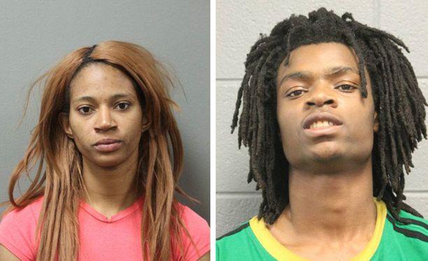 Tanishia Covington, 24, ja Tesfaye Cooper, 18, saivat syyteet viharikoksesta.