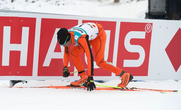 Adrian Solanon hiihtotaidot eivät vakuuttaneet Lahdessa.
