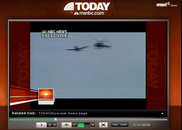 NBC sai käsiinsä videon onnettomuudesta.