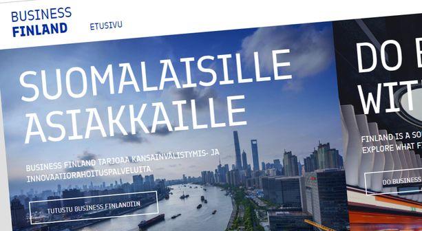 Business Finland tarjoaa rahoituspalveluita. Silloin kun rahaa on.