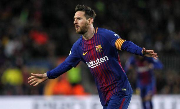 Lionel Messi ei kovasta otteluruuhkasta huolimatta levännyt lauantain liigaottelussa.
