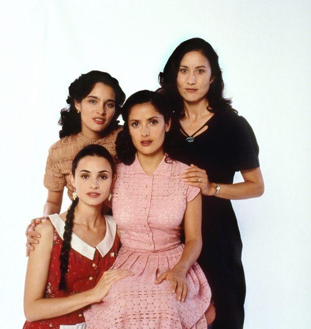 In the Time of Butterflies -elokuvassa vuonna 2001.