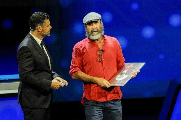 Éric Cantona siteerasi puheessaan Shakespearen Kuningas Learia.