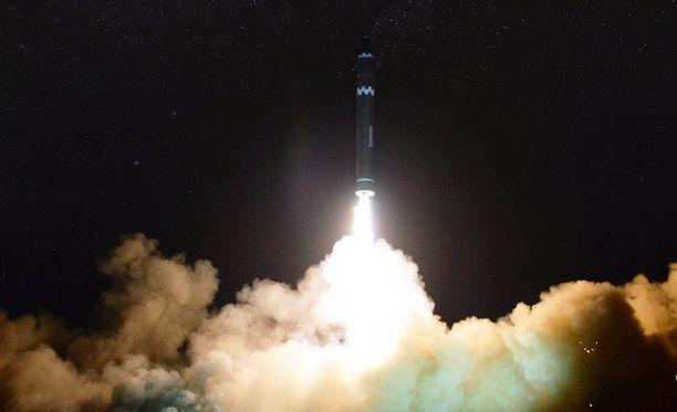 Viimeksi keskiviikkona Pohjois-Korea teki uuden ohjuskokeen.